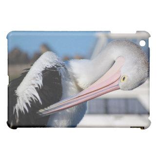 Pelicans seabirds ocean sea big birds feathers cover for the iPad mini