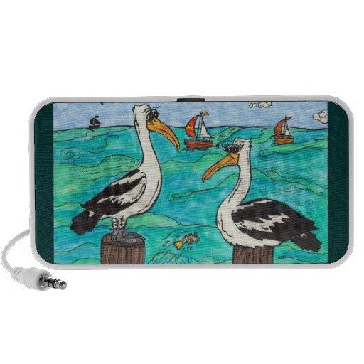 Pelicans Speakers