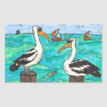 Pelicans stickers