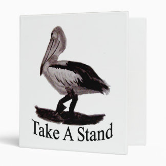 Pelicans Take A Stand Binders
