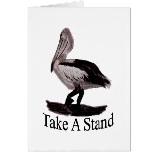 Pelicans Take A Stand Card
