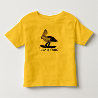 Pelicans Take A Stand Toddler T-shirt