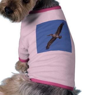 Pelicans Wings Flying Doggie Tee Shirt
