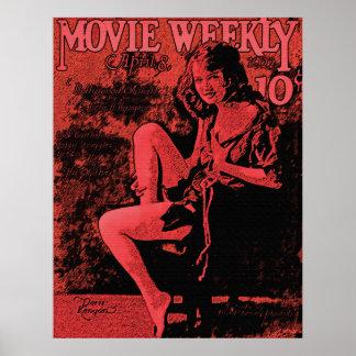 Película abril de 1922 semanal posters