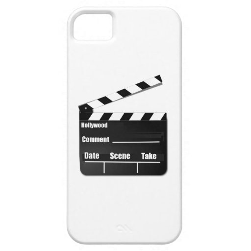 Película Clapperboard iPhone 5 Carcasas