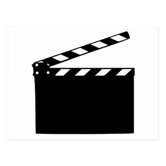 Película - clapperboard postal