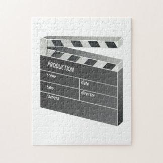 Película Clapperboard Rompecabezas