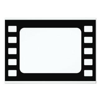 """película de 35m m invitación 5"""" x 7"""""""