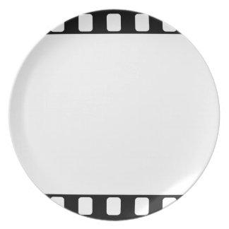 película de 35m m plato de comida