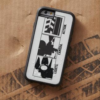Película de acción de la cámara de las luces Movie Funda De iPhone 6 Tough Xtreme