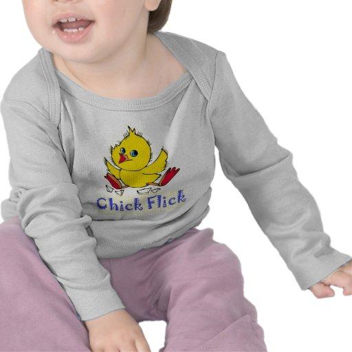 Película del polluelo camisetas