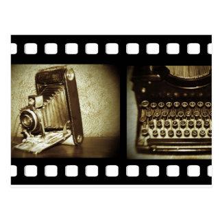 Película del vintage postal