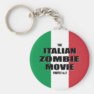 Película italiana del zombi - llavero