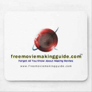 película libre que hace el logotipo de guide.com tapete de ratones