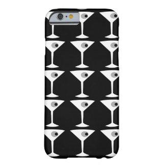 Película Noir otro caso del iPhone 6 de Martini Funda De iPhone 6 Barely There