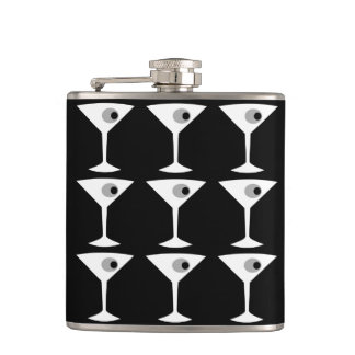 Película Noir otro frasco de Martini Petaca