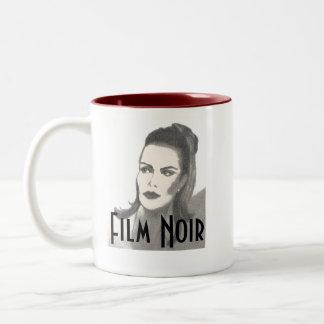 Película Noir Taza De Dos Tonos