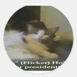 ¡Película para el presidente! Pegatina Redonda
