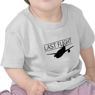 Película pasada del vuelo camiseta