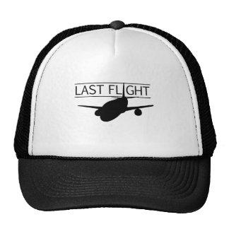 Película pasada del vuelo gorras