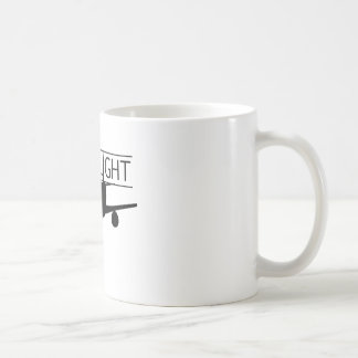 Película pasada del vuelo tazas de café