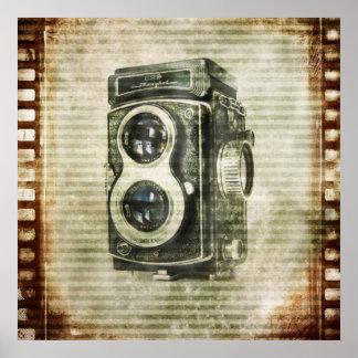 Película retra de las cámaras del Grunge del vinta Posters