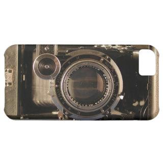 película retra del diseño del viejo de la cámara d funda para iPhone 5C