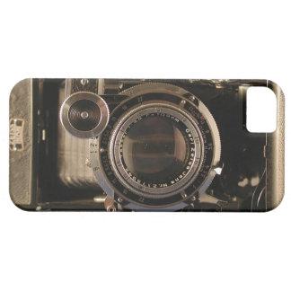 película retra del diseño del viejo de la cámara iPhone 5 funda