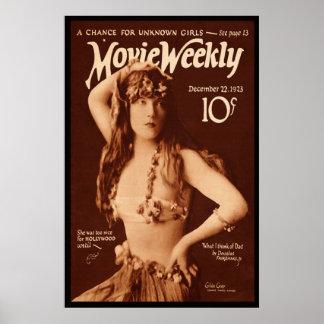 Película semanal con el gris de Gilda Posters