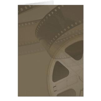 Película y teatro tarjeta de felicitación