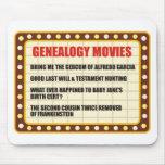 Películas de la genealogía alfombrilla de raton