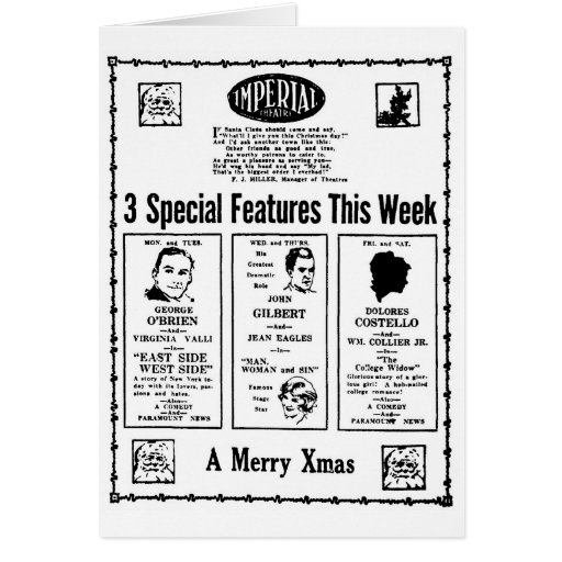 Películas de las Felices Navidad en Augusta GA Felicitaciones