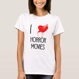 Películas de terror del corazón I Playera