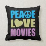 Películas del amor de la paz almohada