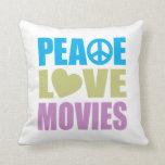 Películas del amor de la paz almohadas