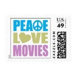 Películas del amor de la paz sello