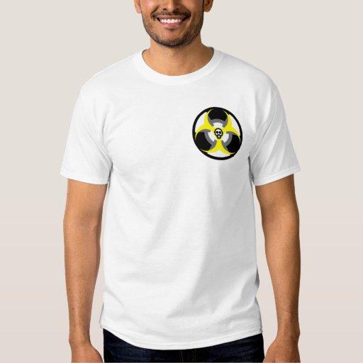peligro bio-nuclear 4 playera