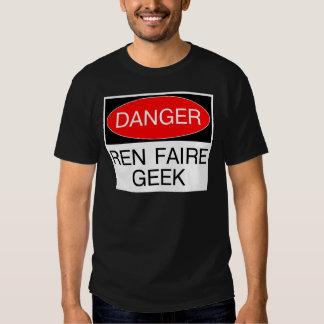 Peligro - camiseta de Faire del renacimiento del Poleras