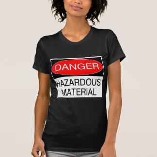 Peligro - camisetas divertidas de la seguridad del playeras