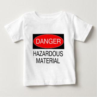 Peligro - camisetas divertidas de la seguridad del remeras