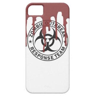 peligro d que camina del equipo de la respuesta iPhone 5 carcasas