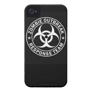 peligro d que camina del equipo de la respuesta iPhone 4 Case-Mate cárcasas