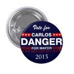 Peligro de Carlos para el alcalde de NYC Pin