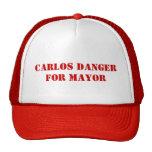 Peligro de Carlos para el alcalde - gorra de Antho
