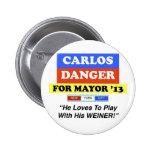 Peligro de Carlos para el juego de alcalde NYC con Pin
