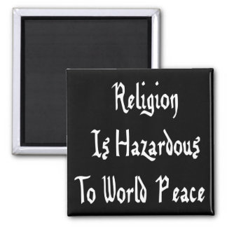 Peligro de la religión imán cuadrado