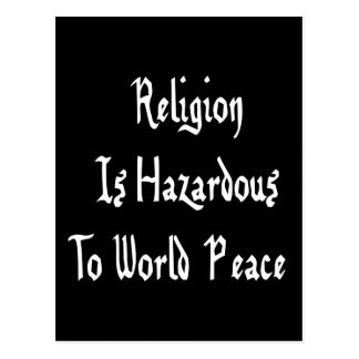 Peligro de la religión postal