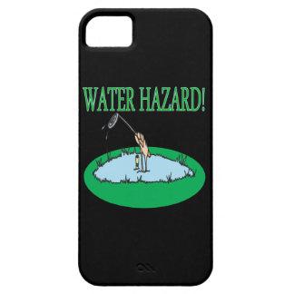 Peligro del agua iPhone 5 fundas