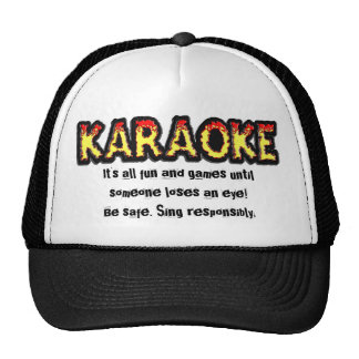 Peligro del Karaoke - gorra 1