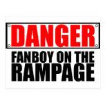 PELIGRO: Fanboy en el alboroto Postal